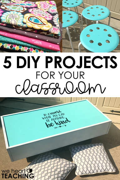 5 DIY Projects for the Classroom