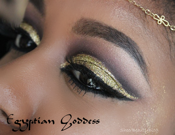 Egyptian Goddess Halloween Look kat von d eye shadows halloween pretty looks makeup