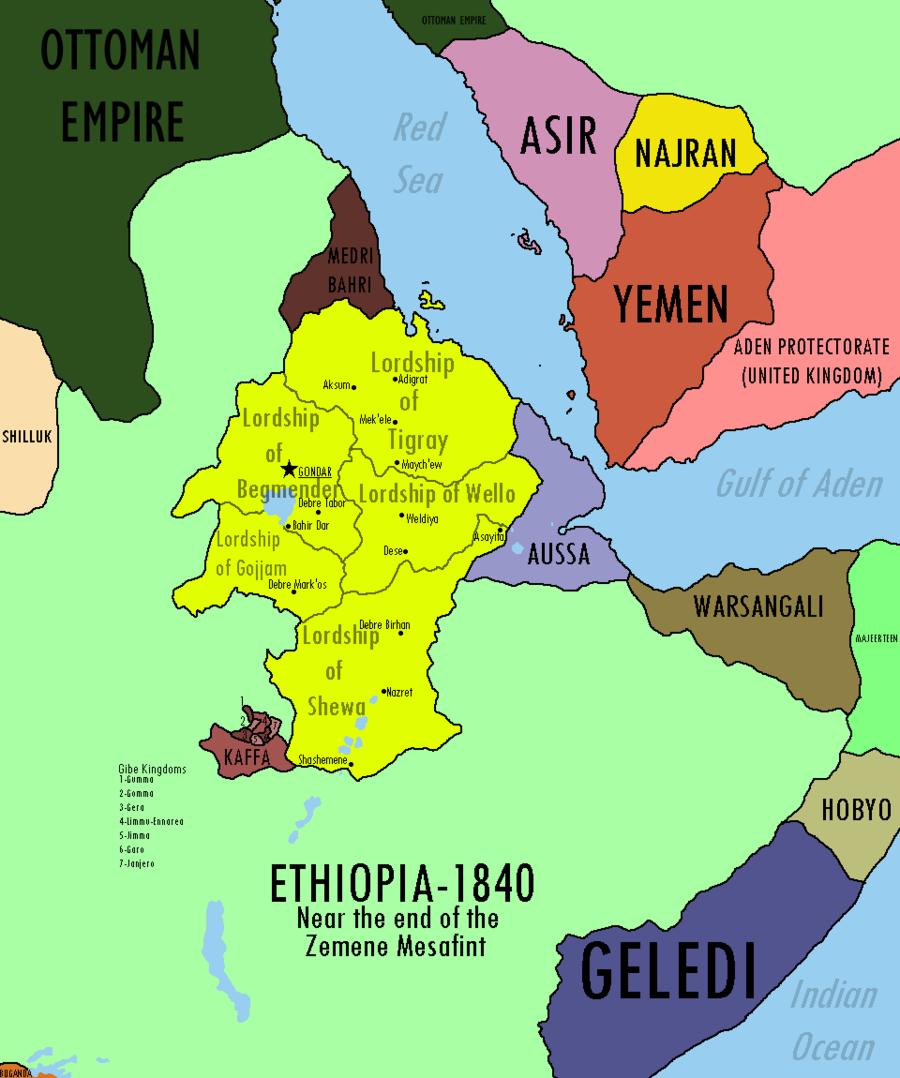 Etiópia e Moçambique