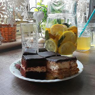 milki way, 3bit i woda smakowa z miodem