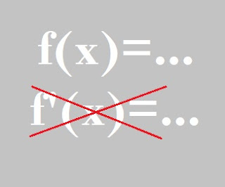 contoh fungsi yang tak punya turunan