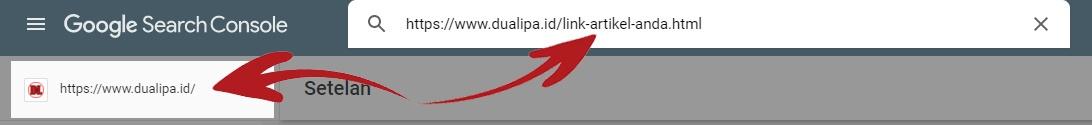 Cara Mengatasi Masalah URL Tidak Ada di Properti Google Search Console