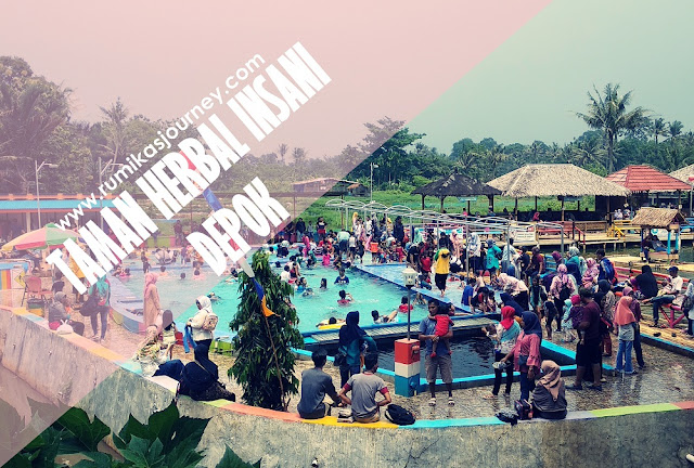 tempat wisata keluarga kolam renang taman herbal insani depok