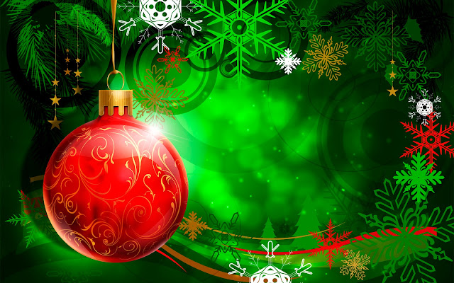 colorful christmas wallpaper