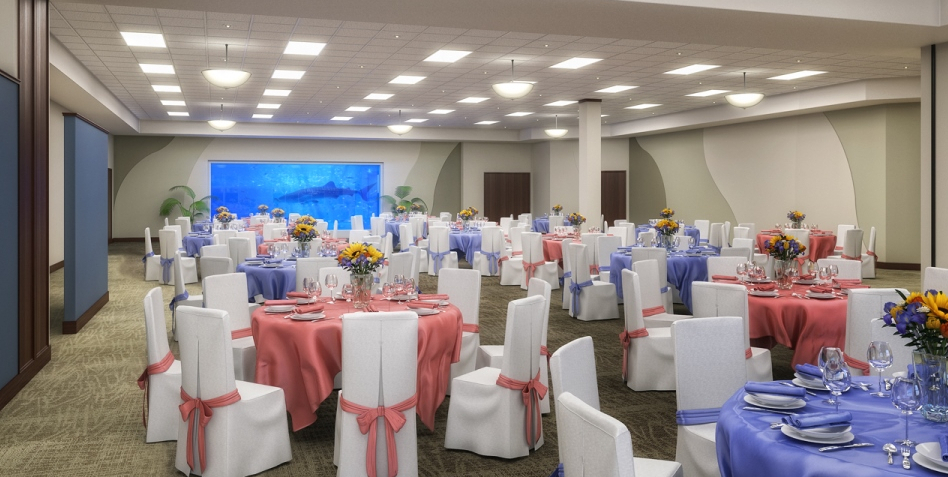 "Loveland Living Planet Aquarium Wedding Venues"" title="