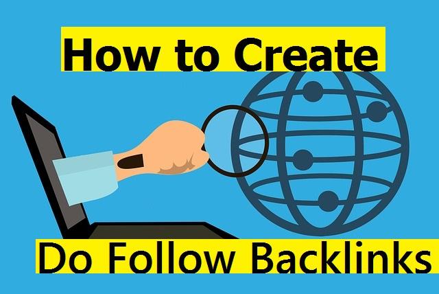 How to Create Dofollow Backlinks