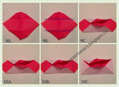 DIY Valentine's kiss pop-up card