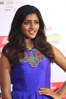 Eesha in Cute Blue Sleevelss Short Frock at Mirchi Music Awards South 2017 ~  Exclusive Celebrities Galleries 039.JPG