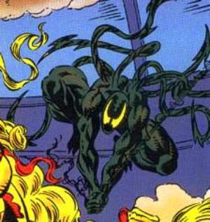 El simbionte Lasher formaba parte de los Cinco Simbiontes
