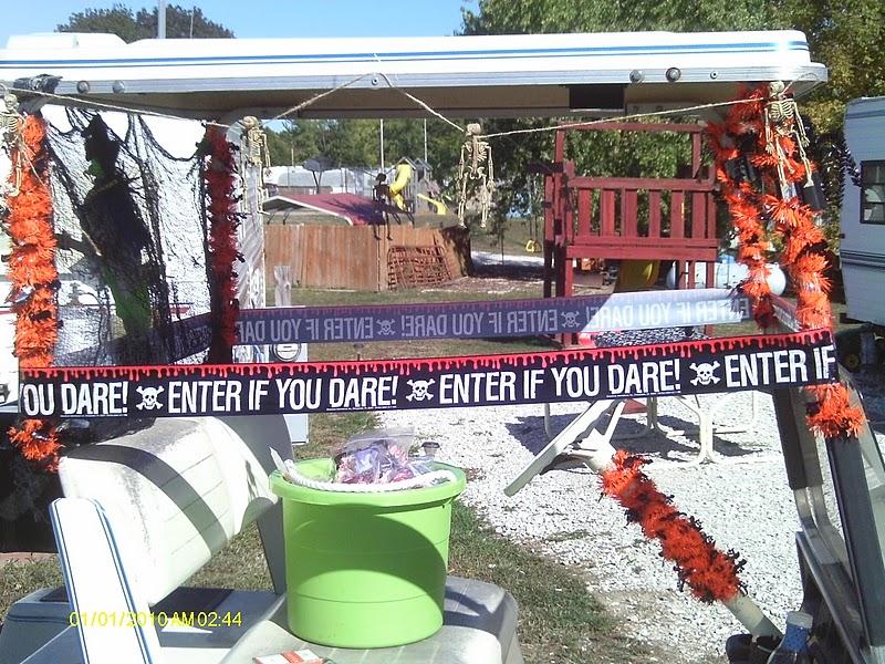 Halloween Decorated Golf Cart Ideas