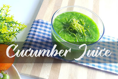 Cucumber Juice Weight Loss