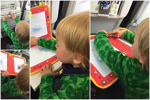 Aqua Doodle Tipps Flugreisen Kinder Sommerbuecher Meer Reisen Urlaub Jules kleines Freudenhaus