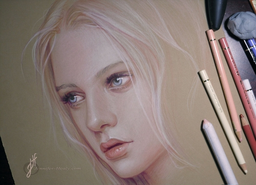 13-Nastya-Kusakina-Jennifer-Healy-Traditional-Art-Color-Pencil-Drawings-www-designstack-co