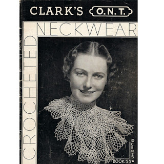 Vintage Crochet Collar patterns, SPC Book 55
