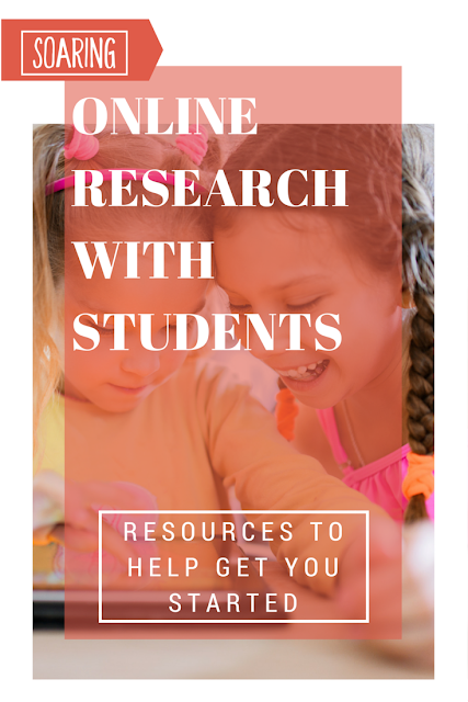 The internet can be a scary place for both students and teachers. Help young students begin online research and navigate the internet with these free resources. Website suggestions, QR codes, digital citizenship videos, graphic organizers, and best practices included.