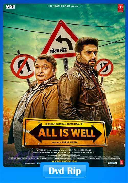 All Is Well 2015 480p DVDRip 350MB x264