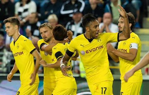 Lối chơi của các cầu thủ Dortmund trong từng trận đấu luôn thu hút được mọi ánh nhìn