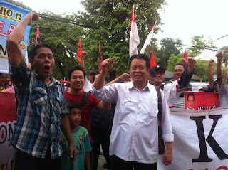 Daftar Cawawali PDI Perjuangan, Indro Tjahjono Dikawal Ratusan KONCI