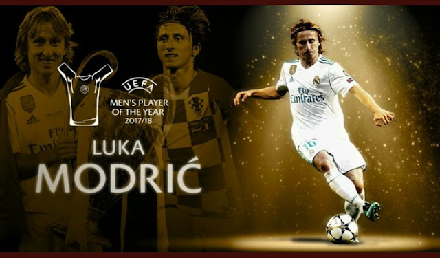 Luka Modric - Men's Player Of The Year 2017/18