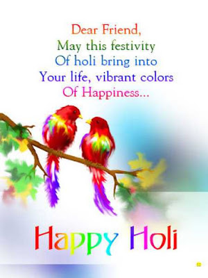 Happy Holi Wishes, Messages, Sms for Friends