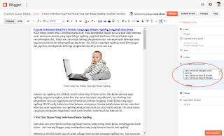 Tips Menampilkan descripsi Penelusuran Blogger Dengan Mudah