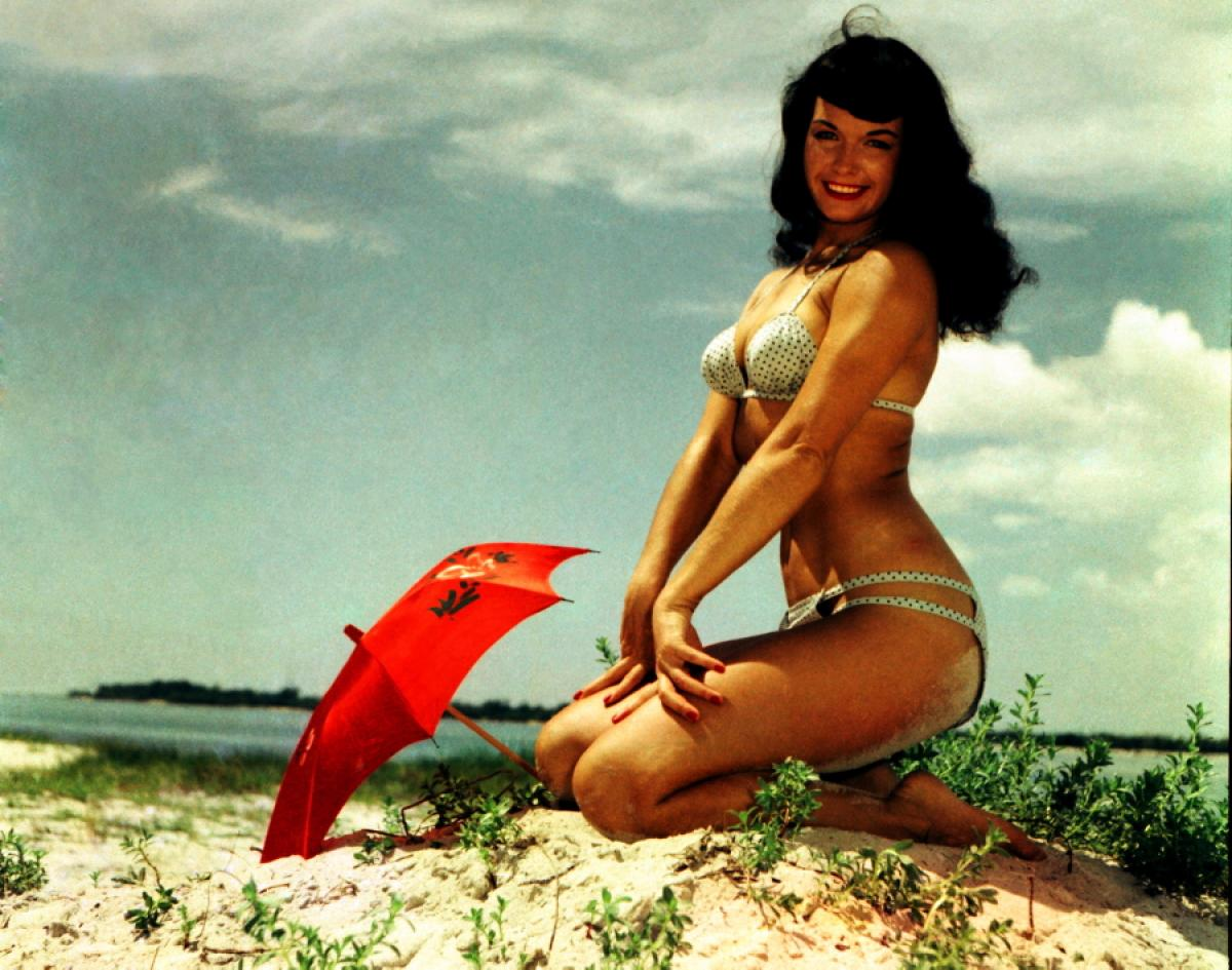Betty Page Photos: The Chic Guide: ♡ Bettie Page