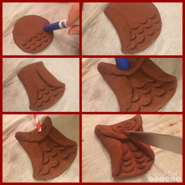 Cinnamon Owl Ornaments