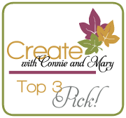 Create With Connie & Mary Top 3 Pick!