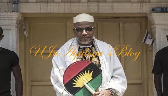 Biafra: Nnamdi Kanu reacts to Buhari's marching order on IPOB, agitators