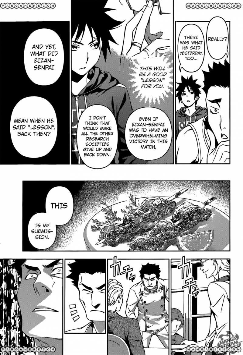 Shokugeki no Soma - Chapter 180