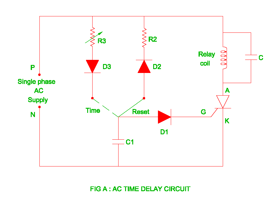 AC Time Delay Circuit Electrical Revolution