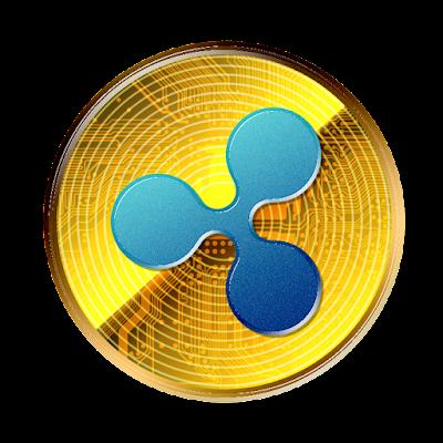 仮想通貨リップルのフリー素材(金貨ver)