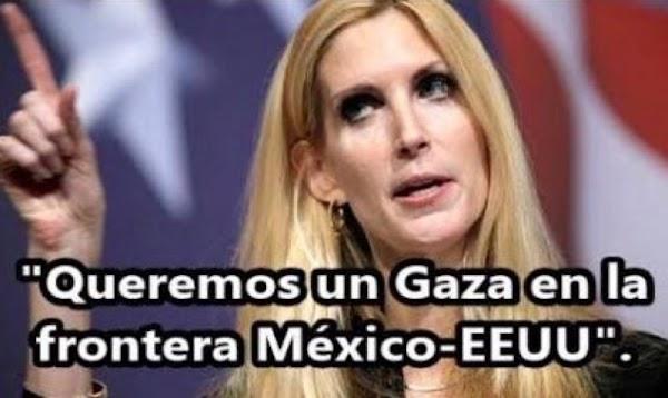 Periodista gringa pide a Corea del Norte que bombardee México.