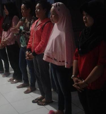 5 orang Narapidana Perempuan dipindahkan ke LPP Muara Bulian