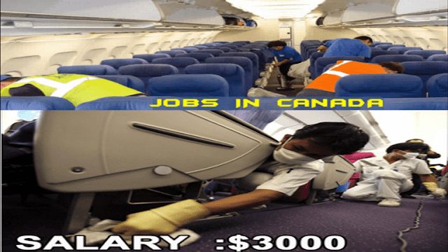 aircraft cleaner wanted in canada