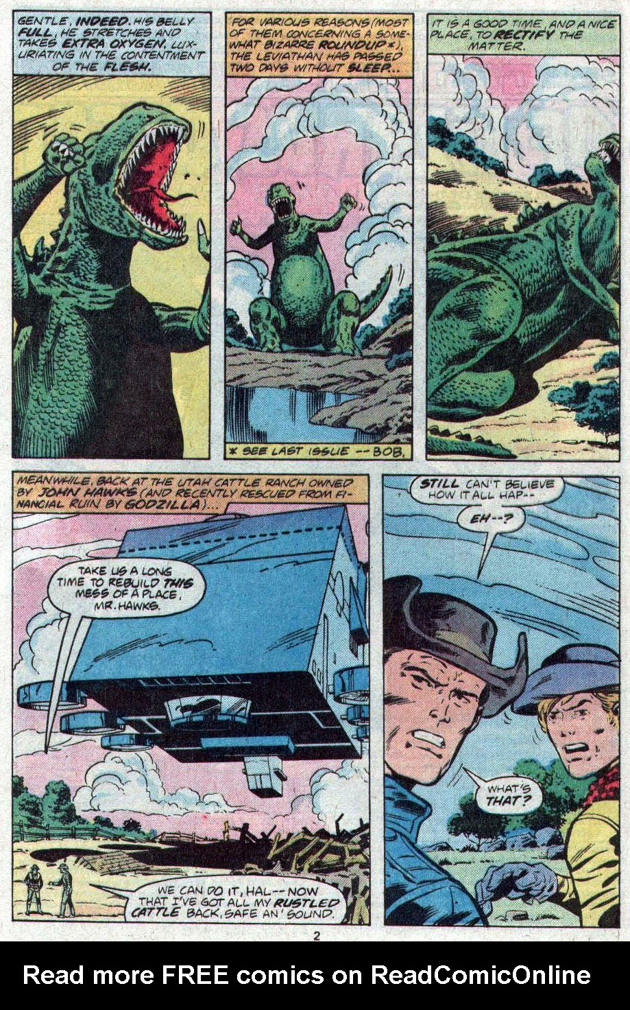 Godzilla (1977) Issue #17 #17 - English 3