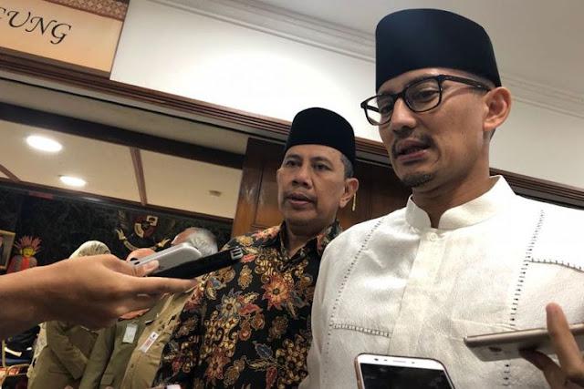 Ampun Deh Wagubernur, Ditanya Kenapa Bazis DKI Tak Ngikuti UU 23 Tahun 2011 Agar Legal, Jawaban Koplak Sandiaga Uno Bikin.....