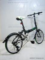 4 Sepeda Lipat CHEVROLET Suspension 20 Inci