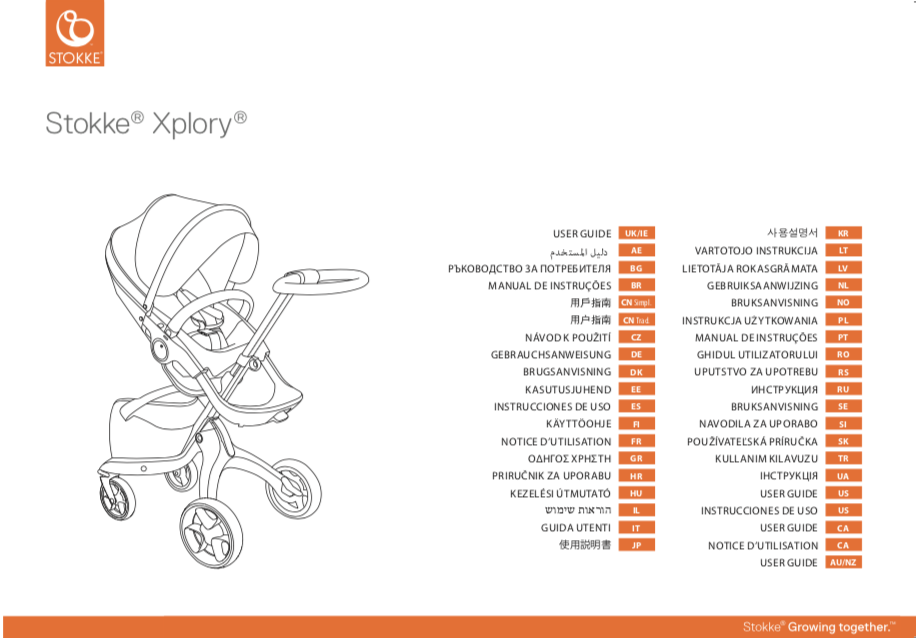 Stokke Xplory V3 V4 V5 User Guide