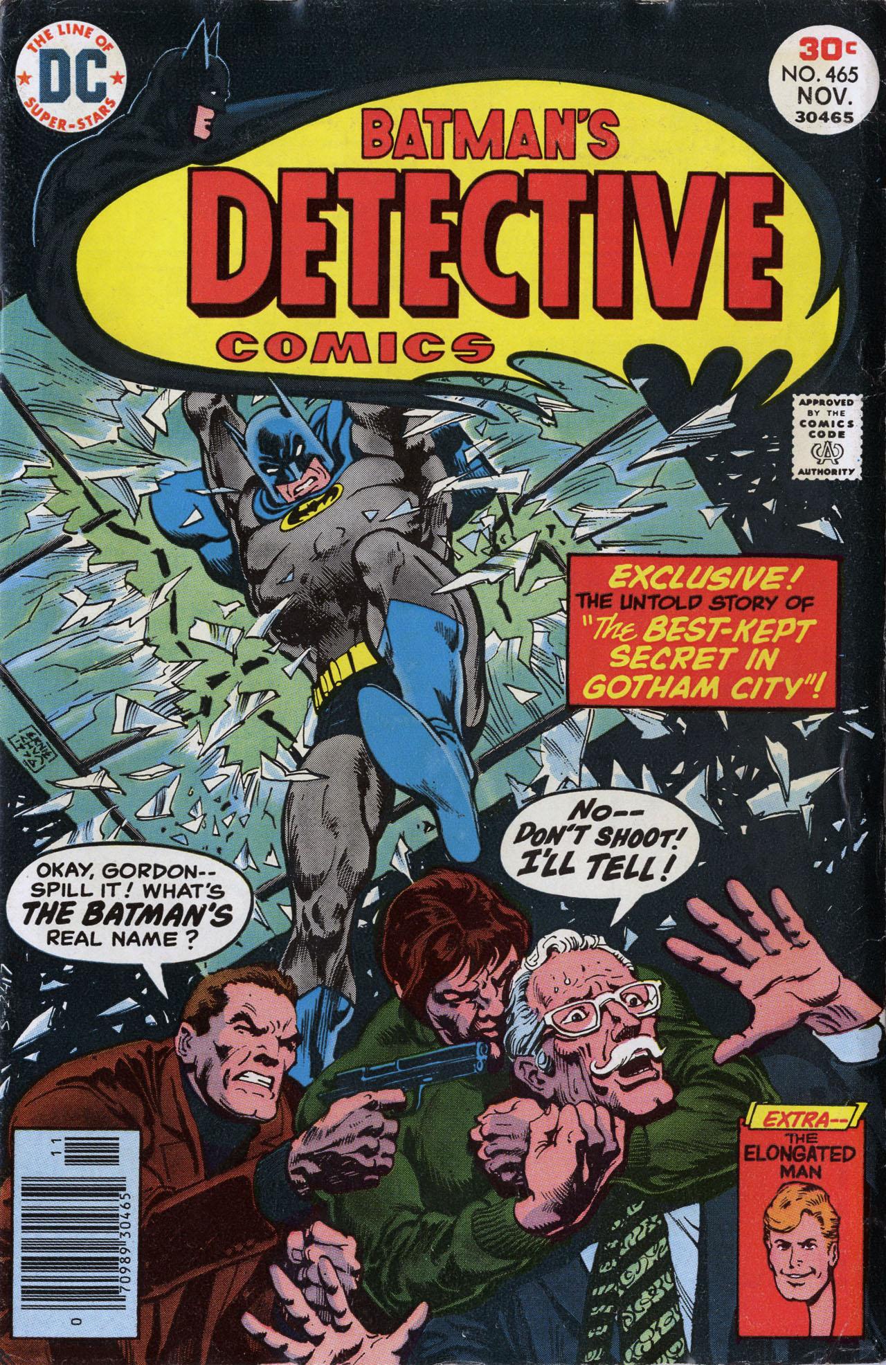 Detective Comics (1937) 465 Page 1