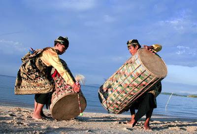 gendang beleq suku sasak wisata seni budaya lombok