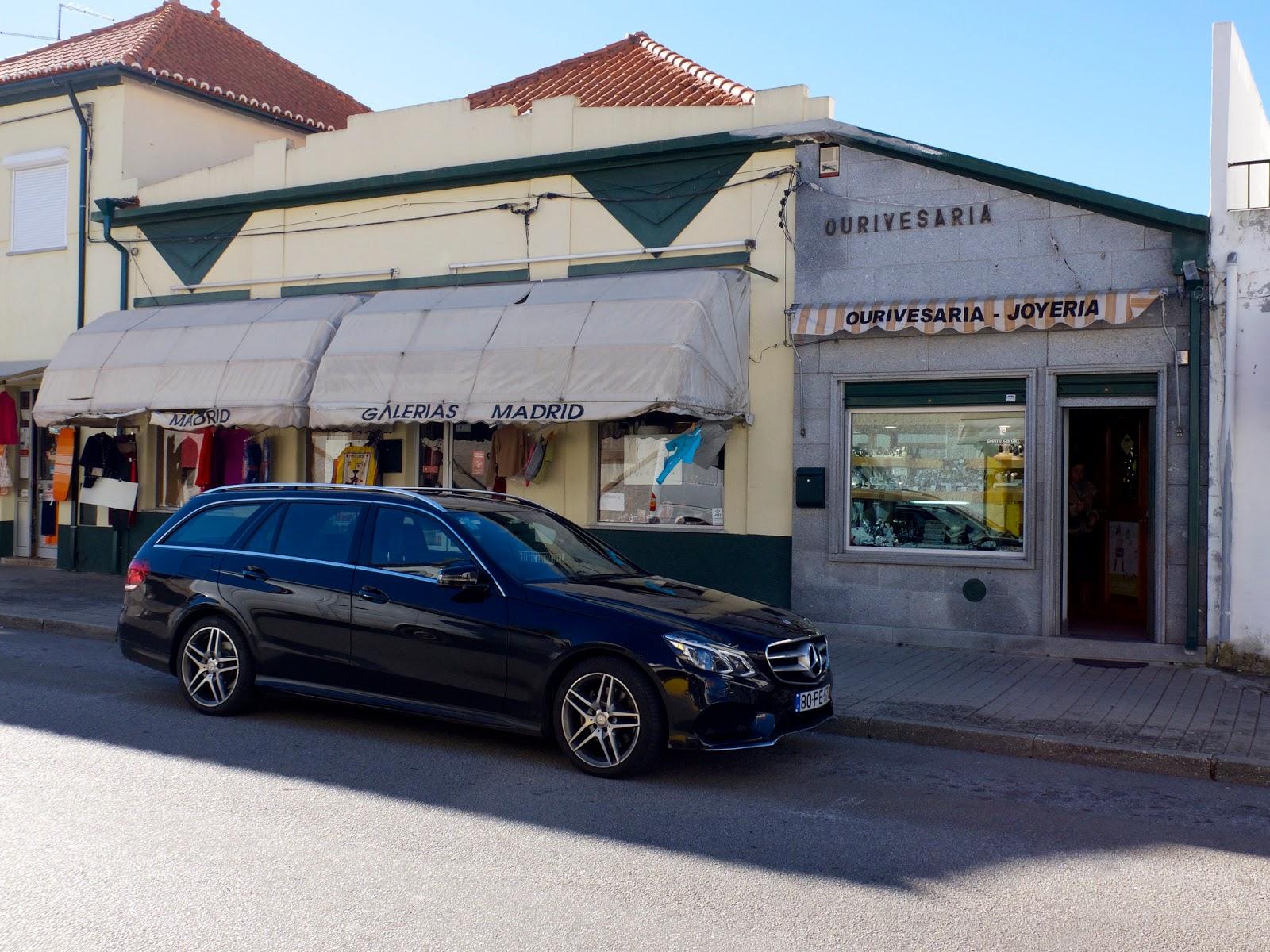 Mercedes en Villa Formosa, Portugal 2015