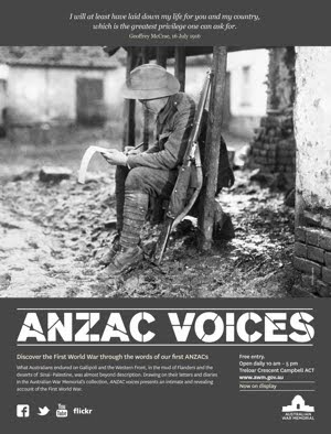 Anzac Voices :: Australian War Memorial