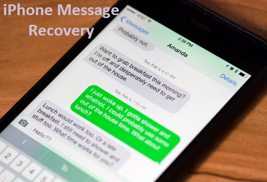iPhone 7 Data Recovery: How to Recover Deleted Text Messages on iPhone 7\/7 Plus\/6S\/6S Plus\/6\/6 Plus