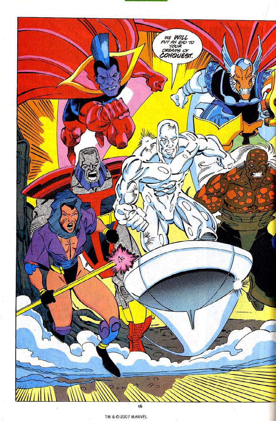 Read online Silver Surfer (1987) comic -  Issue #82 - 18