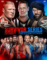 Leaked WWE Survivor Series Poster