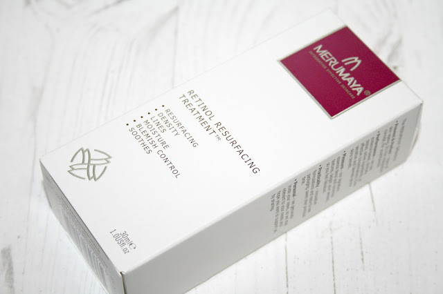 Merumaya retinol resurfacing treatment