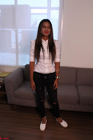Nia Sharma at an itnerview for For Web Series Twisted 11.JPG