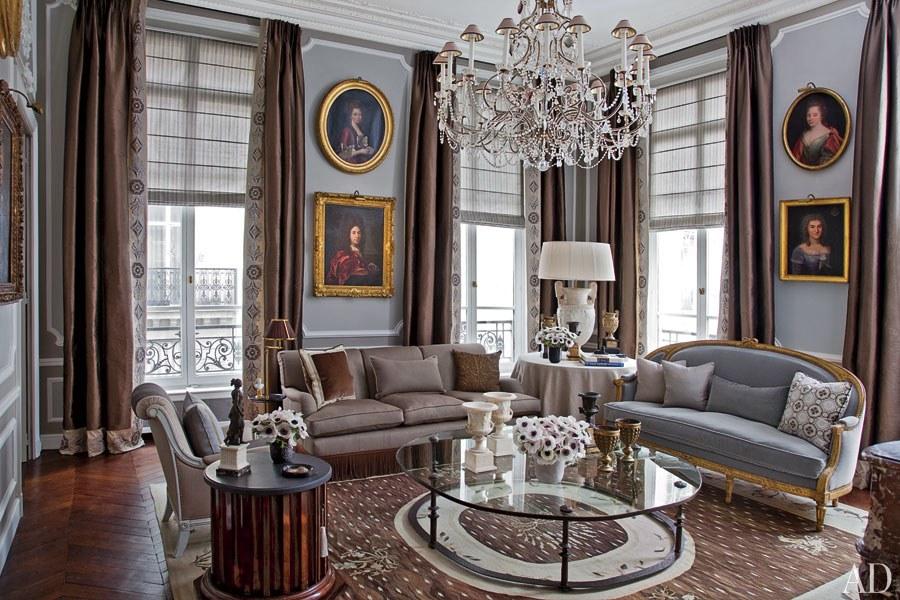An Elegant Paris Apartment An Elegant Paris