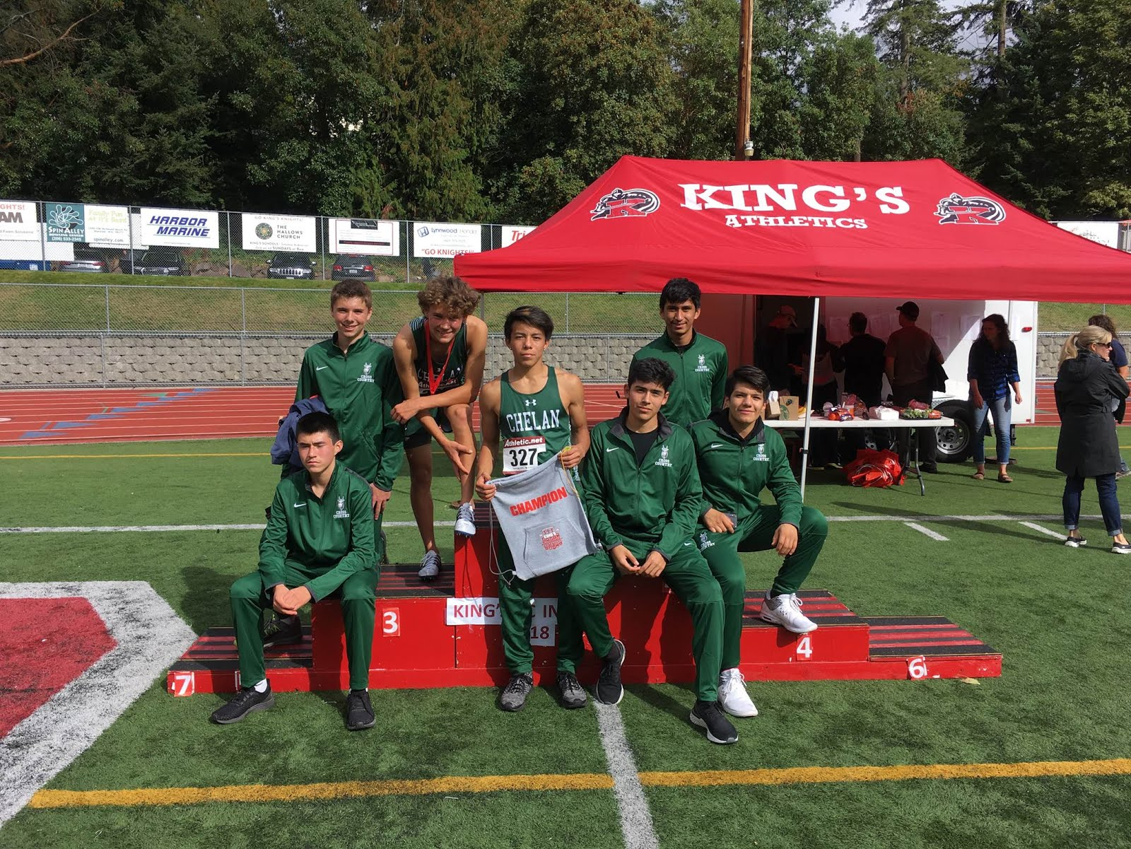 Chelan Cross Country Teams Both Place Third at King's Cross